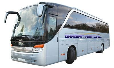 rental bus padang