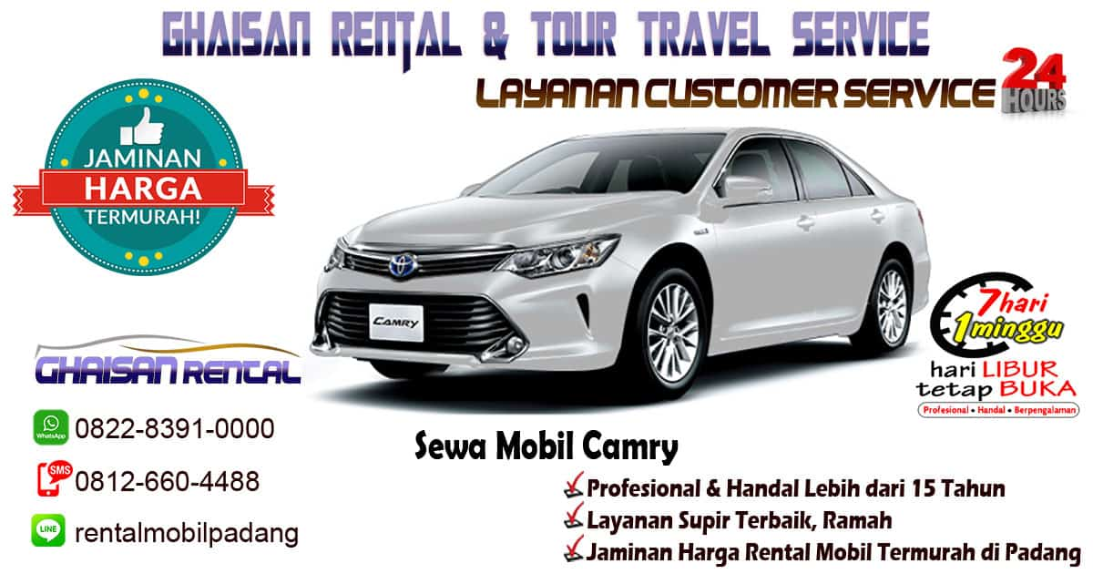 sewa mobil camry padang sumatera barat ghaisan rental. Black Bedroom Furniture Sets. Home Design Ideas