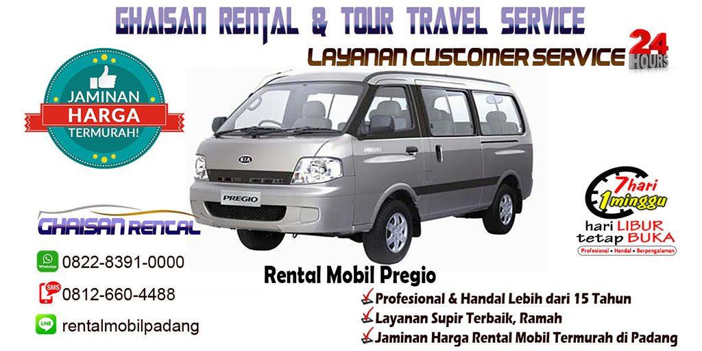 sewa rental mobil pregio di Padang